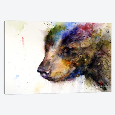 Bear Canvas Print #DCR73} by Dean Crouser Canvas Artwork