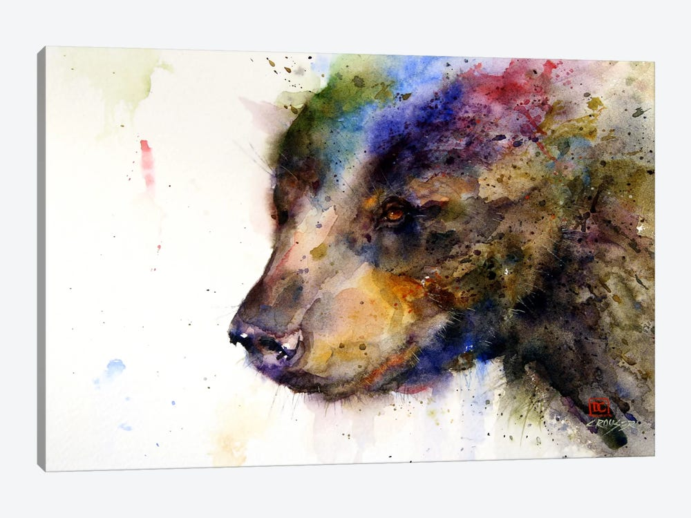 Bear by Dean Crouser 1-piece Art Print