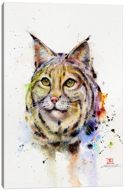 Wild Cat Canvas Art Print