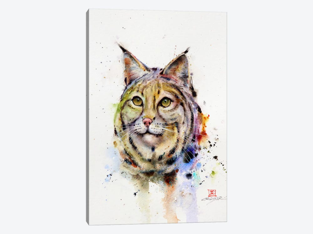 Wild Cat by Dean Crouser 1-piece Canvas Art