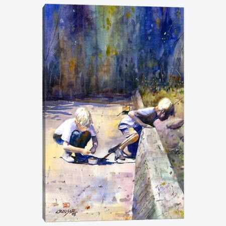 True Friendship Canvas Print #DCR77} by Dean Crouser Art Print
