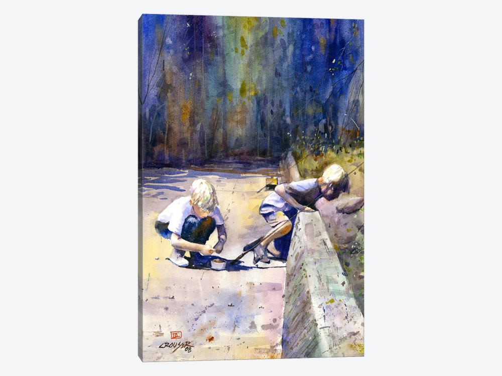 True Friendship 1-piece Canvas Art Print