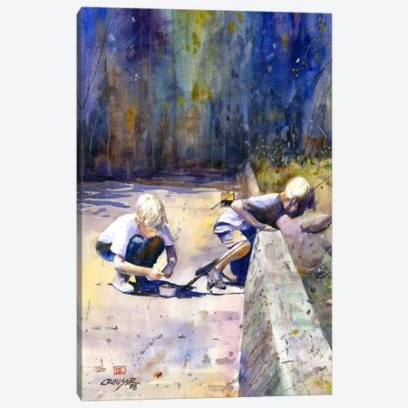 True Friendship Canvas Print #DCR77} by Dean Crouser Art Print