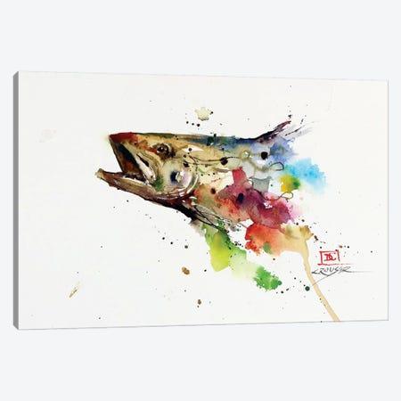 Abstract Trout Canvas Print #DCR78} by Dean Crouser Canvas Artwork