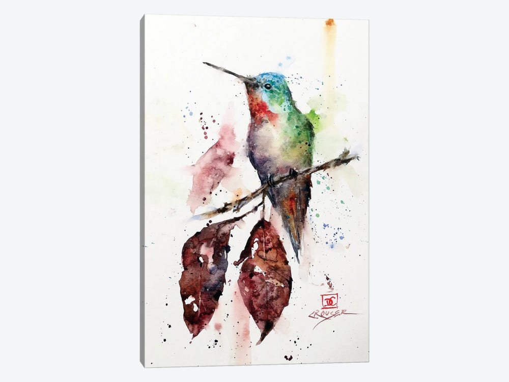 Autumn Hummer by Dean Crouser 1-piece Canvas Art Print