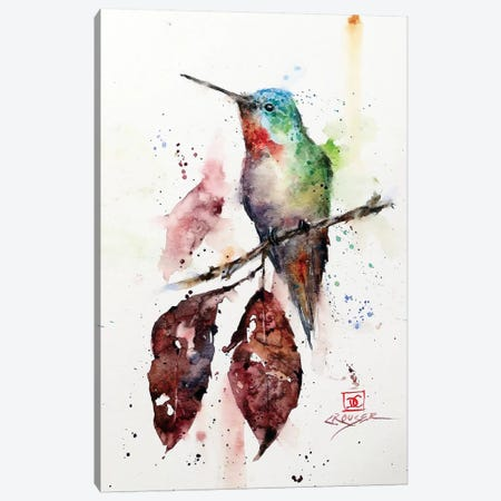 Autumn Hummer 3-Piece Canvas #DCR79} by Dean Crouser Canvas Wall Art