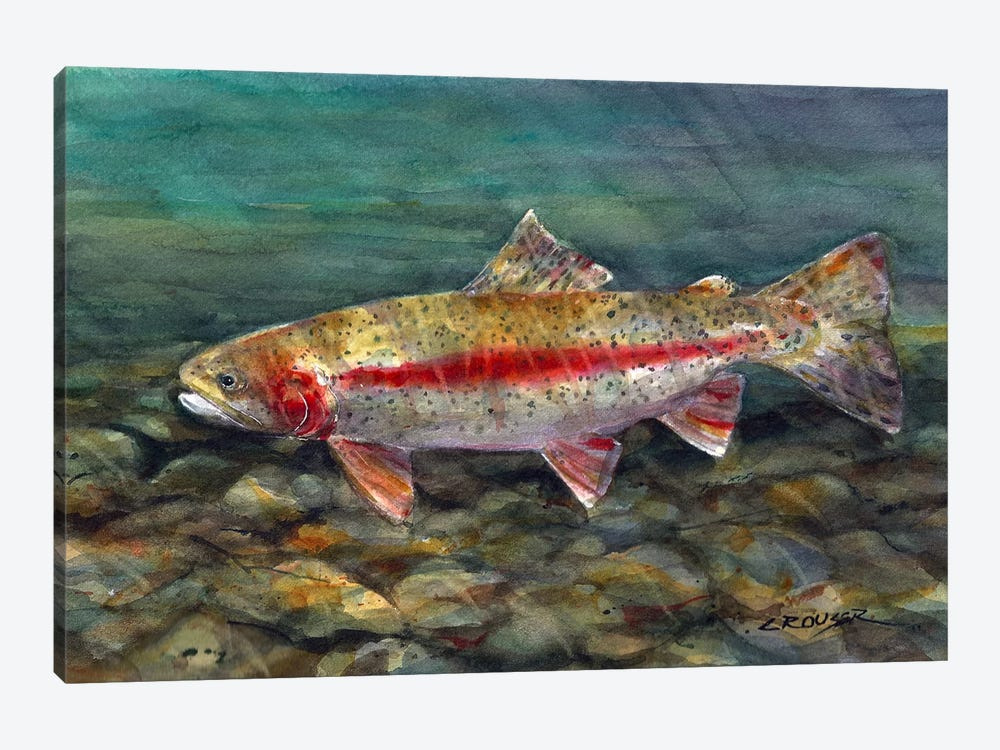 Under the Water by Dean Crouser 1-piece Canvas Wall Art
