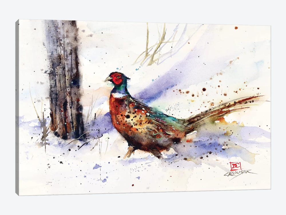 Backtrack Rooster by Dean Crouser 1-piece Art Print