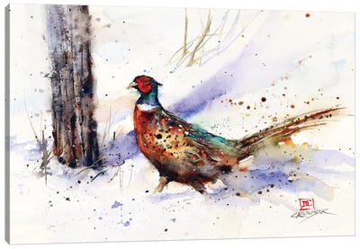 Backtrack Rooster Canvas Art Print
