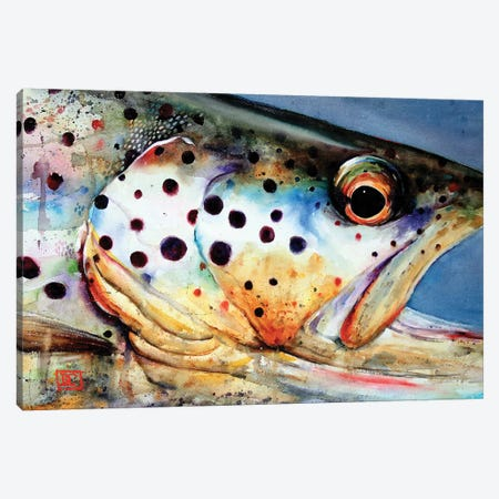 Brown's Eye View Canvas Print #DCR84} by Dean Crouser Canvas Wall Art