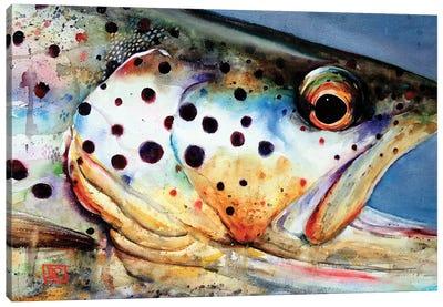 Brown's Eye View Canvas Art Print