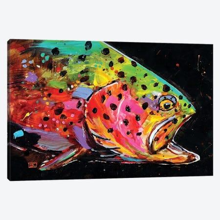 Crazy Trout Canvas Print #DCR91} by Dean Crouser Canvas Art