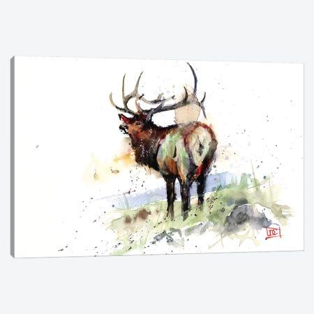Elk III Canvas Print #DCR92} by Dean Crouser Canvas Wall Art