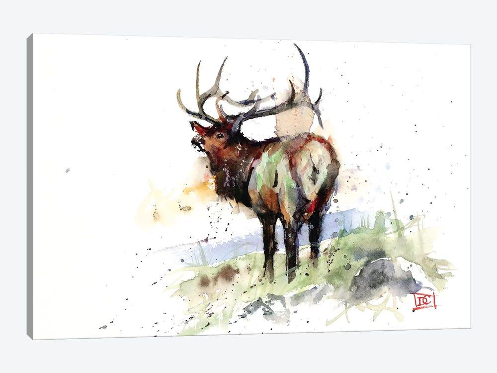 Elk III by Dean Crouser 1-piece Canvas Wall Art