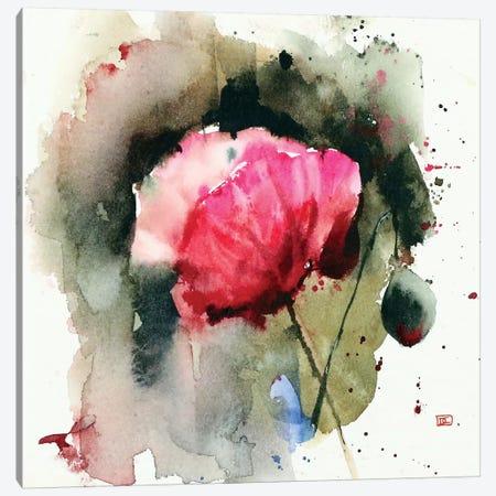 Evening Poppy Canvas Print #DCR93} by Dean Crouser Canvas Wall Art