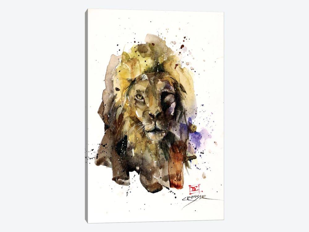 Lion by Dean Crouser 1-piece Canvas Print