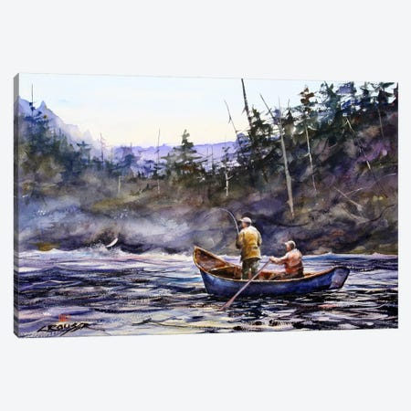 In the Boat Canvas Print #DCR9} by Dean Crouser Canvas Art