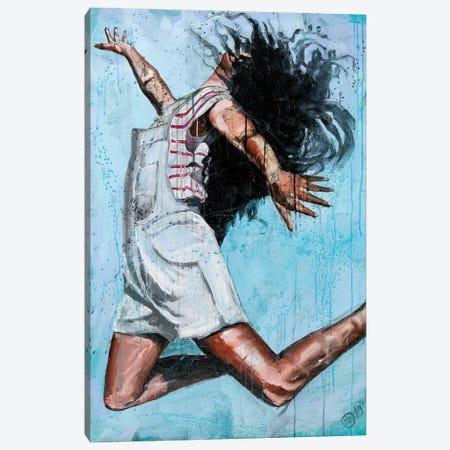 Jump V Canvas Print #DCS26} by Didier Chastan Canvas Art Print