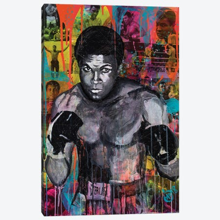 Legend Of Sport I Canvas Print #DCS28} by Didier Chastan Canvas Artwork