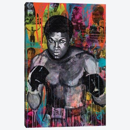 Legend Of Sport I Canvas Print #DCS28} by Didier Chastan Canvas Artwork