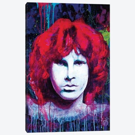 Rock Legend IV Canvas Print #DCS29} by Didier Chastan Canvas Wall Art