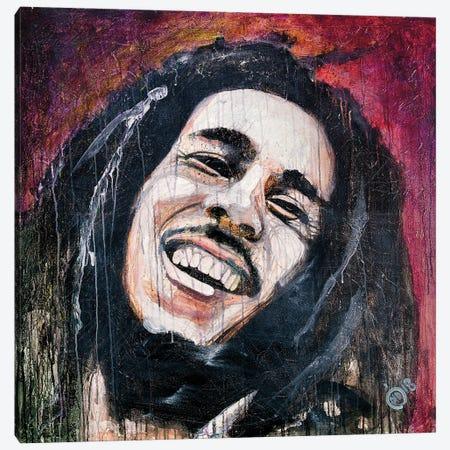 The King Of Reggae I Canvas Print #DCS2} by Didier Chastan Art Print