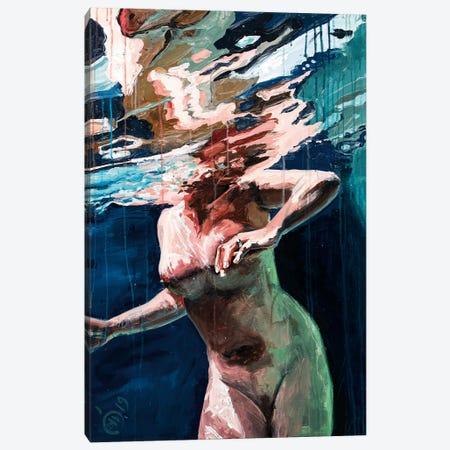 Swimming Pool II Canvas Print #DCS32} by Didier Chastan Art Print