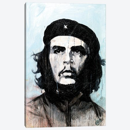 Le Che I Canvas Print #DCS4} by Didier Chastan Canvas Wall Art