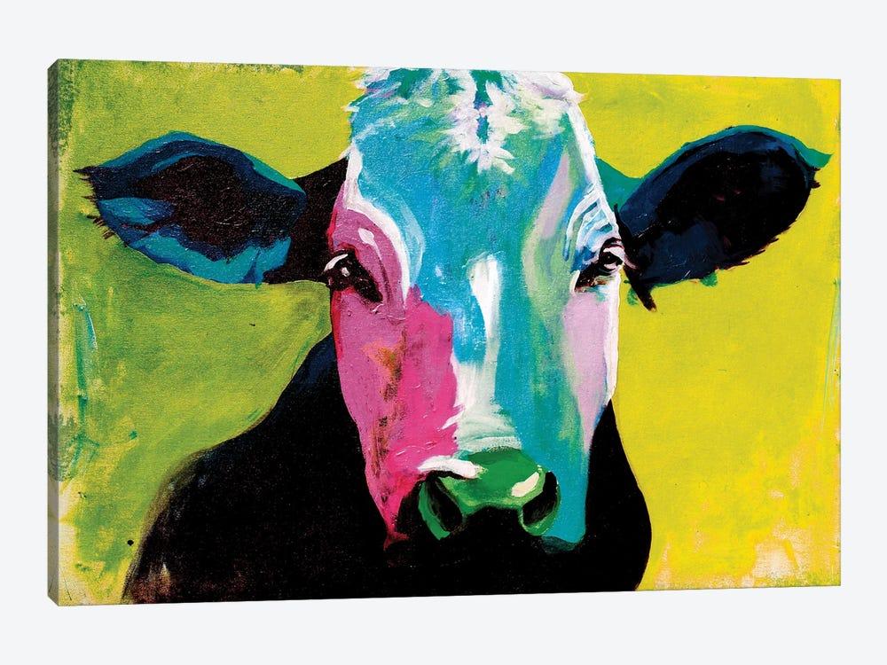 Cow XXI by Didier Chastan 1-piece Art Print