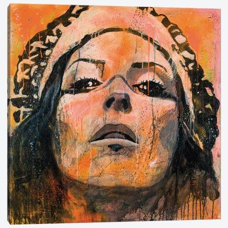 Indian VI Canvas Print #DCS56} by Didier Chastan Canvas Wall Art