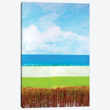 Beach Canvas Print #DCT1} by Daniela Carletti Canvas Artwork