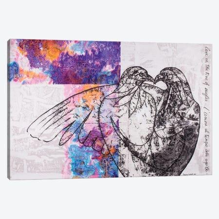 Kiss Of The Eagles Canvas Print #DCT24} by Daniela Carletti Canvas Art
