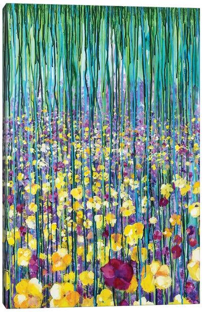Wild Garden I Canvas Art Print