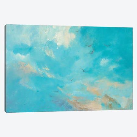 I'll Fly Away Canvas Print #DDA12} by Dina D'Argo Canvas Wall Art