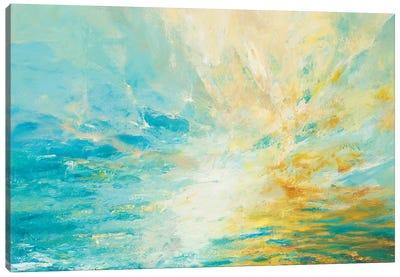 Sparkle & Flow Canvas Art Print