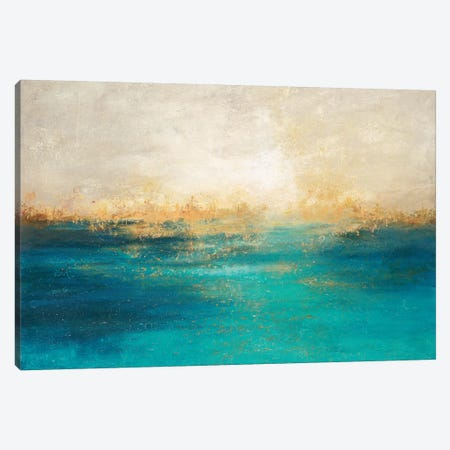 Coastline II Canvas Print #DDA16} by Dina D'Argo Canvas Print
