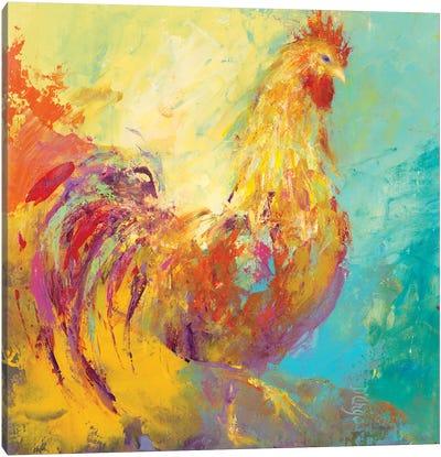 Funky Chicken I Canvas Art Print