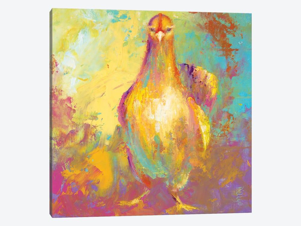 Funky Chicken II by Dina D'Argo 1-piece Canvas Artwork