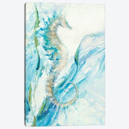 New Seahorse Canvas Print #DDA27} by Dina D'Argo Canvas Art