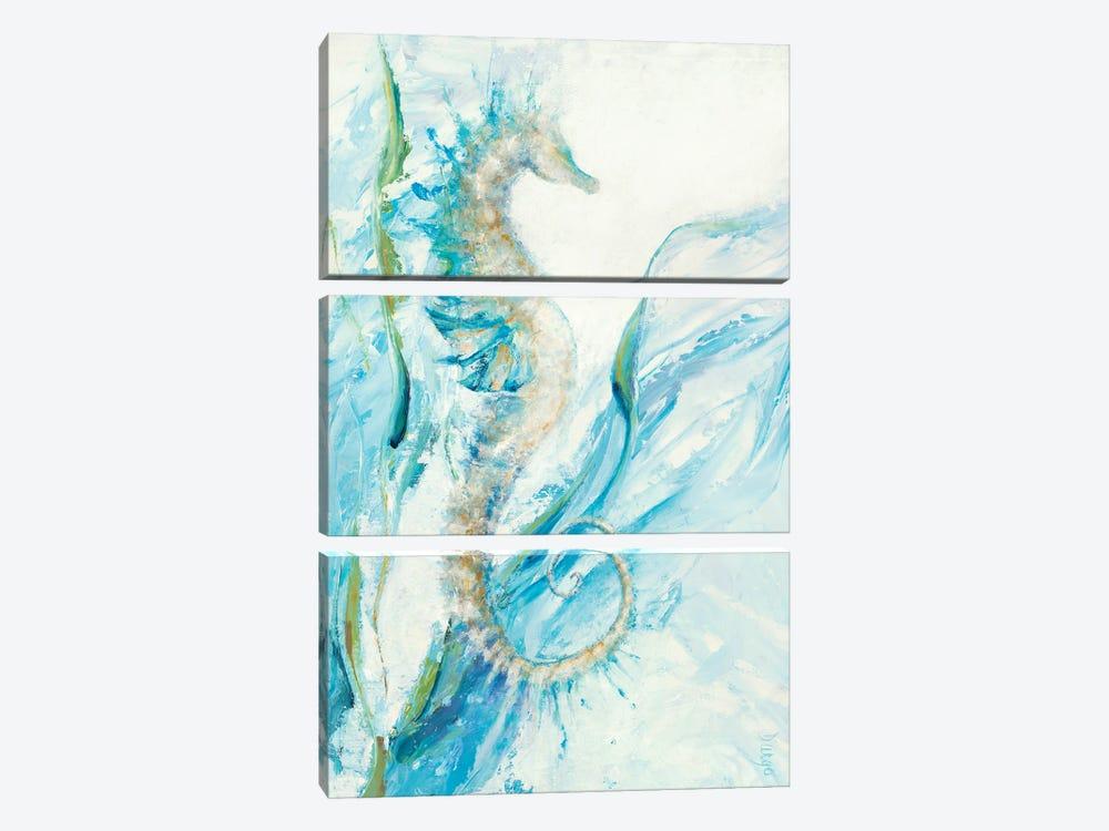 New Seahorse by Dina D'Argo 3-piece Art Print