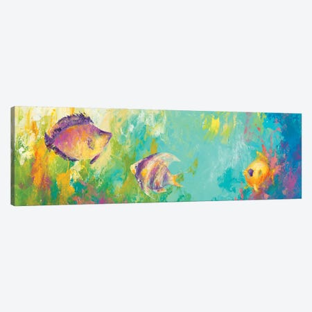 Reef Encounter Canvas Print #DDA28} by Dina D'Argo Canvas Print