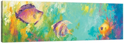 Reef Encounter Canvas Art Print