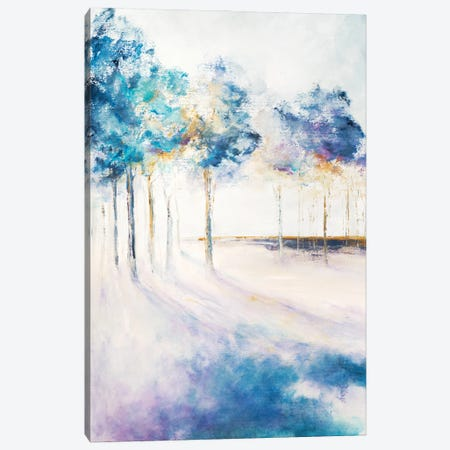 Shadow and Tall Trees Canvas Print #DDA29} by Dina D'Argo Canvas Art Print