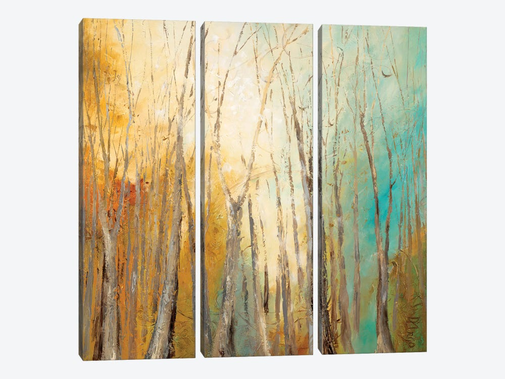 Autumn Bliss by Dina D'Argo 3-piece Art Print
