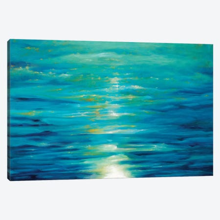 Deep Blue Canvas Print #DDA3} by Dina D'Argo Canvas Art Print