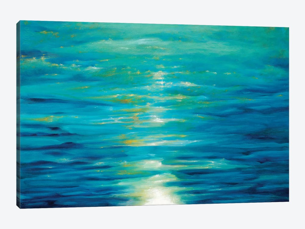 Deep Blue by Dina D'Argo 1-piece Canvas Wall Art