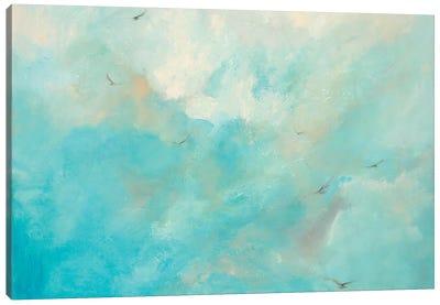 Flying Home Canvas Art Print
