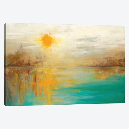 Last Day Of Summer Canvas Print #DDA6} by Dina D'Argo Canvas Art