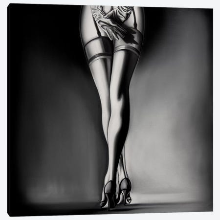 Private Dancer Canvas Print #DDC14} by Drew Darcy Canvas Print