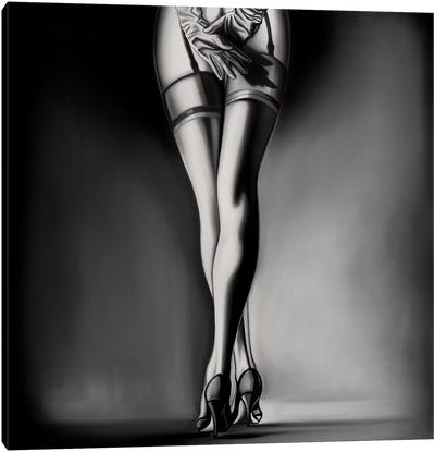 Private Dancer Canvas Art Print